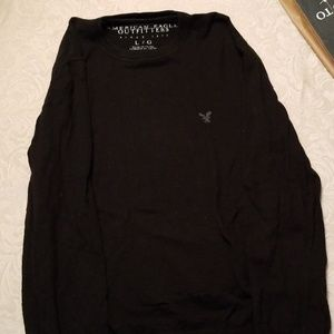 American Eagle Outfitters dark navy sweater